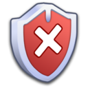 128x128px size png icon of System Security Firewall OFF