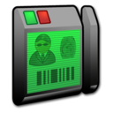 128x128px size png icon of System Security Reader 1