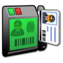 128x128px size png icon of System Security Reader 2