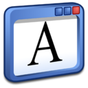 128x128px size png icon of Windows Write