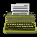 128x128px size png icon of Typewriter
