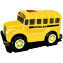 128x128px size png icon of schoolbus