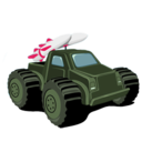 128x128px size png icon of tank