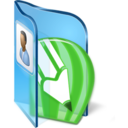 128x128px size png icon of CDR Files