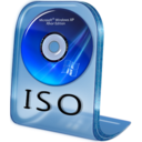 128x128px size png icon of ISO File