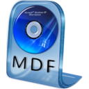 128x128px size png icon of MDF File