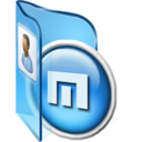128x128px size png icon of Maxthon 2