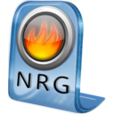 128x128px size png icon of NRG File