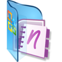 128x128px size png icon of OneNote Notebooks