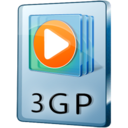 128x128px size png icon of 3GP File