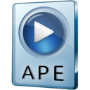 128x128px size png icon of APE File
