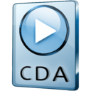 128x128px size png icon of CDA File