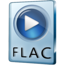 128x128px size png icon of FLAC File