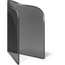 Folder Open Black Icon