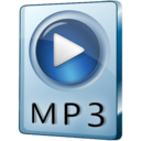 128x128px size png icon of MP3 File