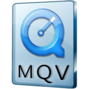 128x128px size png icon of MQV File