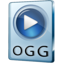 128x128px size png icon of OGG File