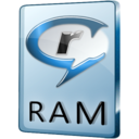 128x128px size png icon of RAM File