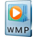 128x128px size png icon of WMP File