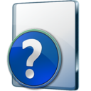 128x128px size png icon of CHM File