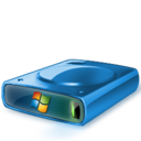 128x128px size png icon of HDD WinXP