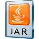 128x128px size png icon of JAR File