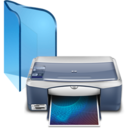 128x128px size png icon of Printer And Faxes