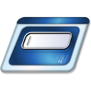 128x128px size png icon of Run
