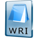 WRI File Icon
