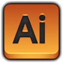 128x128px size png icon of Adobe Illustrator
