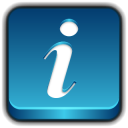 128x128px size png icon of Button Info