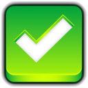 128x128px size png icon of Button Ok