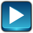128x128px size png icon of Button Play