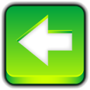 128x128px size png icon of Button Previous