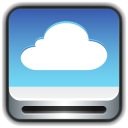 128x128px size png icon of Drive Cloud