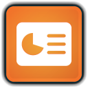 128x128px size png icon of File Presentation
