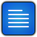 128x128px size png icon of File Word