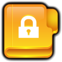128x128px size png icon of Folder Private