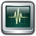 128x128px size png icon of Mac Activity Monitor