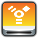 128x128px size png icon of Removable Drive Firewire