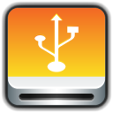 128x128px size png icon of Removable Drive USB
