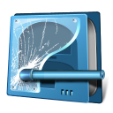 128x128px size png icon of drive security