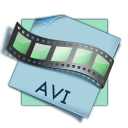 128x128px size png icon of filetype avi