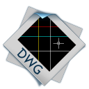 128x128px size png icon of filetype dwg