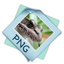 128x128px size png icon of filetype png