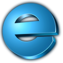 128x128px size png icon of internet explorer