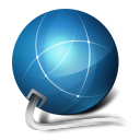 128x128px size png icon of network internet