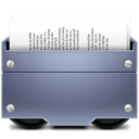 128x128px size png icon of 2 Documents