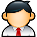 128x128px size png icon of Administrator 2