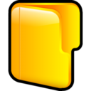 128x128px size png icon of Folder Open 2